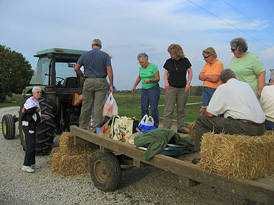 Godfrey Farm Hay Ride and Cookout